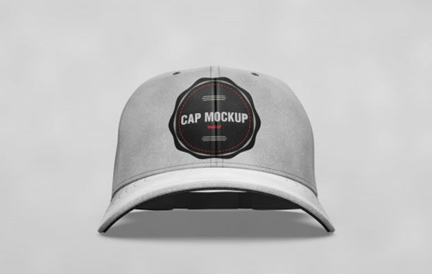 Cap mock up Front View