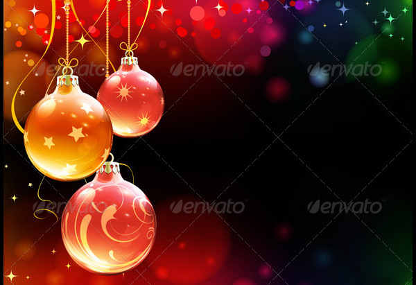 Christmas Decoration Template and design