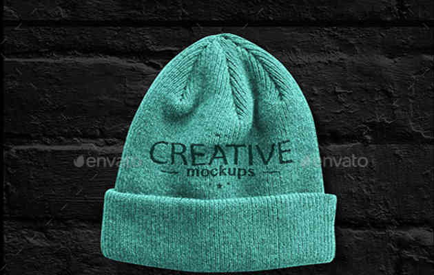 Creative Cap Mock Up
