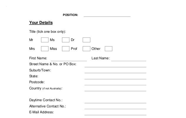 Example-Generic-Job-Application-Template-Free-Download Job Application Form Template Word Format Uk on job resume format in word, job biodata format, job application template microsoft word,