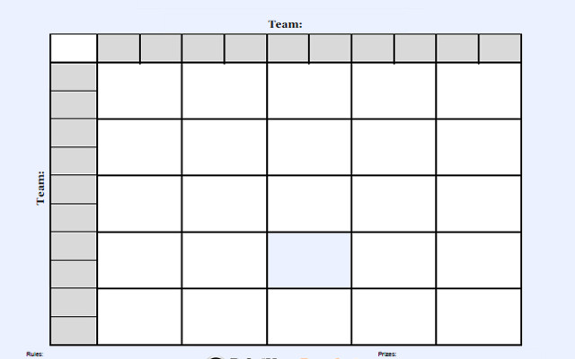 Foot Ball Square Templates