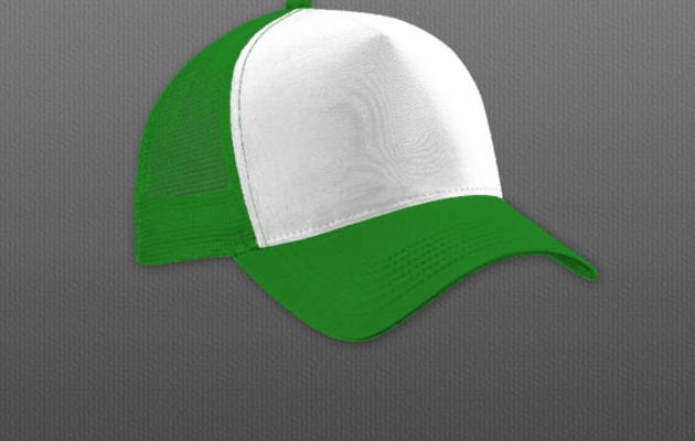 Free Apparel Guy Trucker Cap PSD Template
