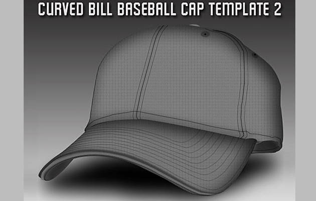 Free Baseball Cap Template PSD Download