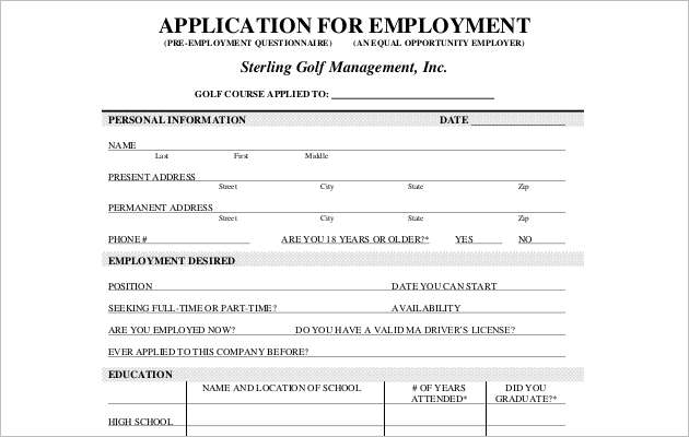 employee application form templates word templates smartcolorlib