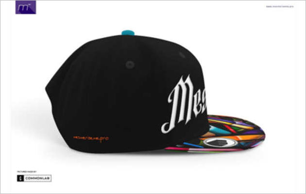 Premium Snapback Cap Mock-up