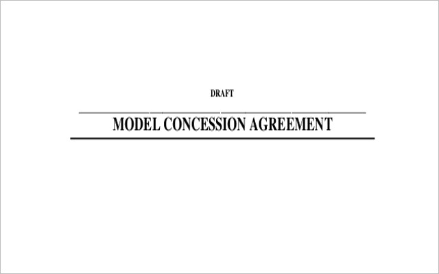 Concession Agreement Templates – Word, PDF