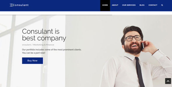 Corporate Business & Services WordPress Theme