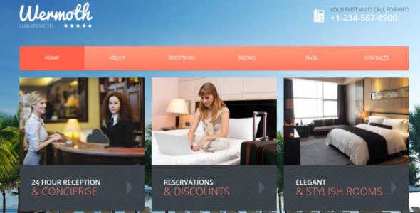Luxury Hotels Theme