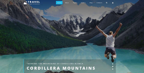 Quick Start Package Travel Agency Joomla Template