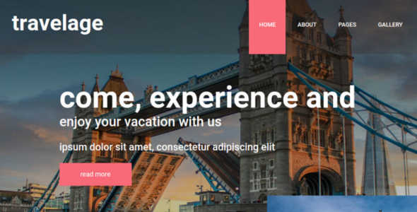 Travel Joomla Template for Travel Agency