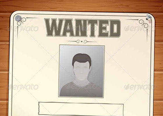 15+ Wanted Poster Creator and Templates