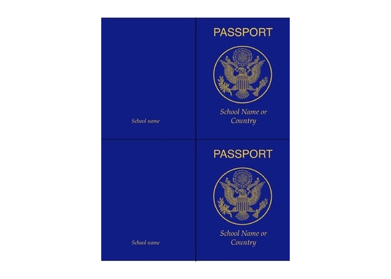Classroom Passport Template