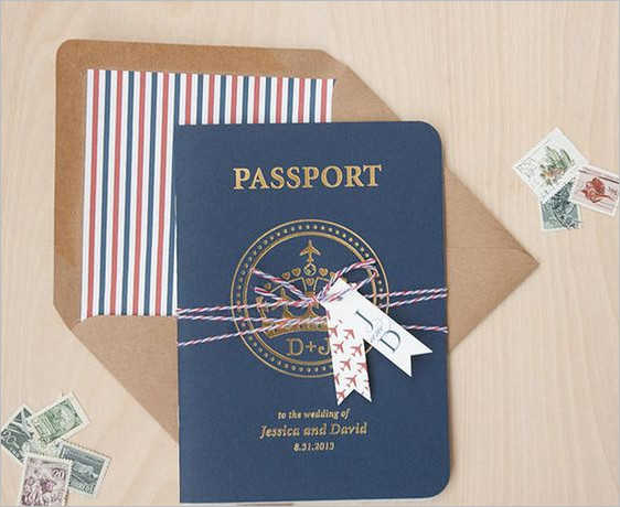 Passport Gift Design idea