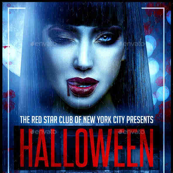 Costume Party Flyer Templates