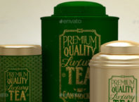 Tea Packaging Mockups