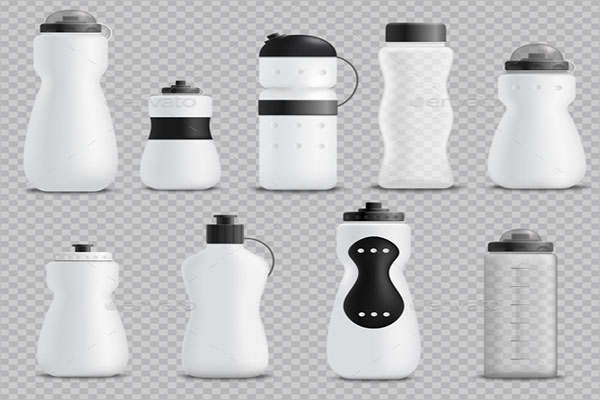 Fitness Sport Bottle Realistic