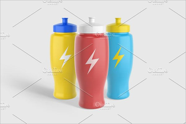 Sport Water Bottle V2 Mockup
