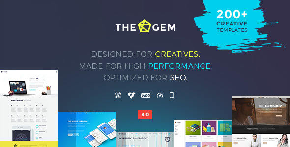 Creative Multi-Purpose High-Performance WordPress Theme