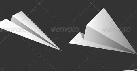 Paper Airplanes templates