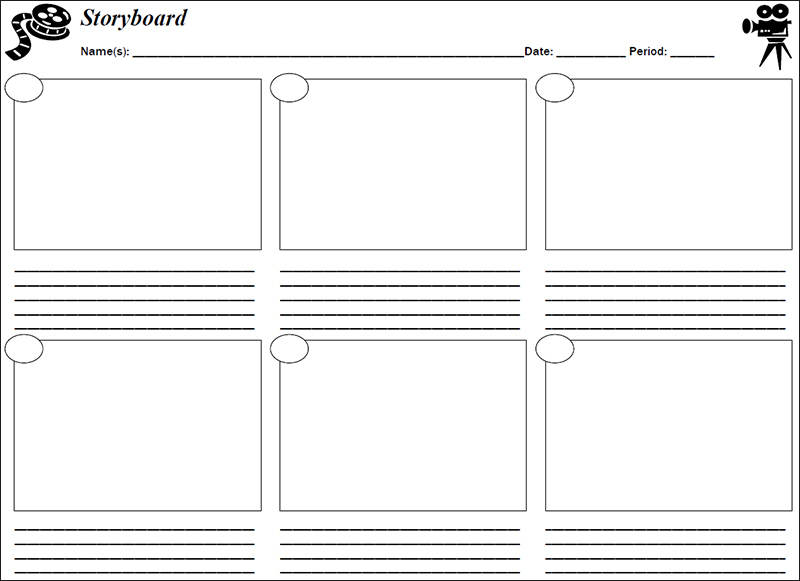 Storyboard Template Pdf