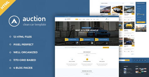 8+ Best Auction Website Templates