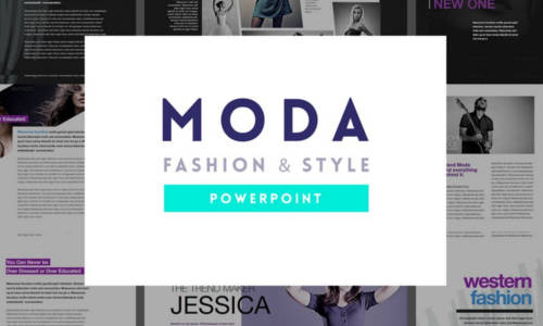 Fashion & Style PowerPoint Template