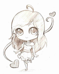 anime chibi drawing