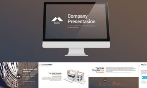Corporate and Business PowerPoint Presentation Template