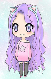 cute chibi coloring kawaii
