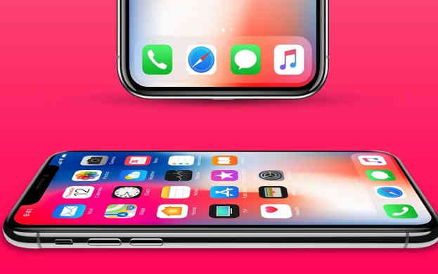 iPhone X Mockup with 2 Angles