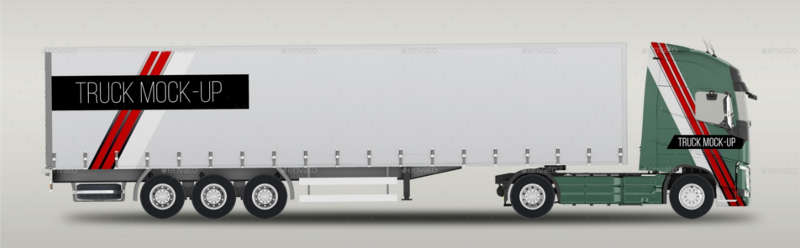 truck mockup template format
