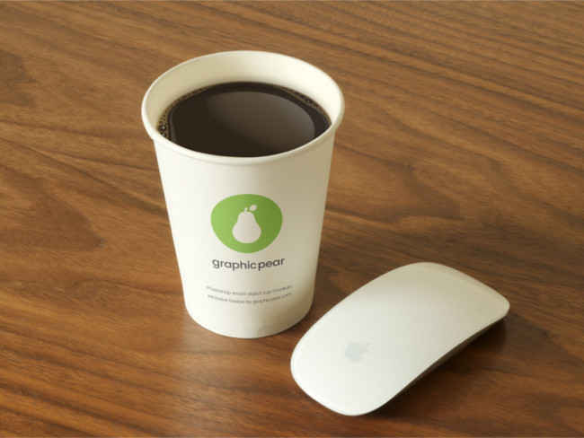 Brand Coffee Cup Mockup Design