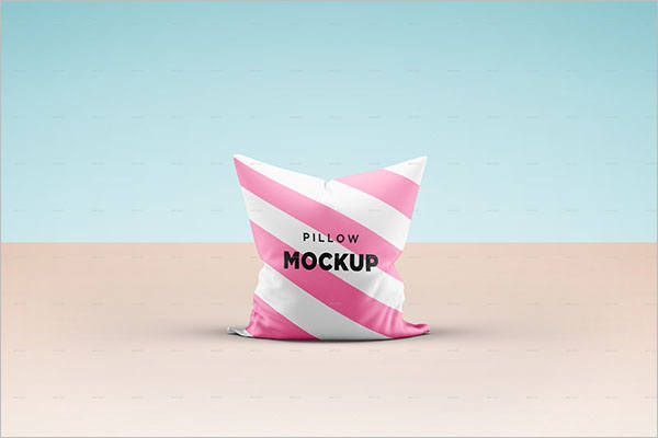 Creative Pillow Cover Mockup