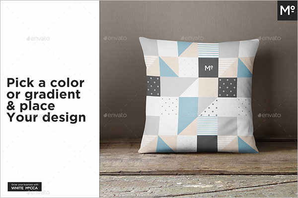 Editable Pillow Cover Mock-up