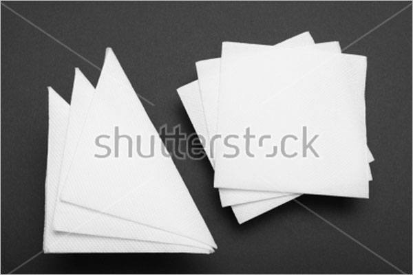 Clean Tissue Paper Mockup