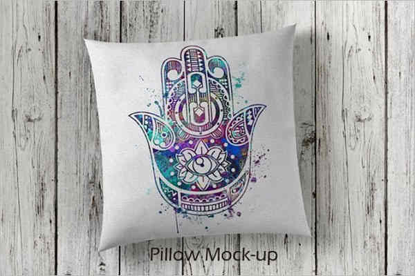 Modern Pillow Cover Mockup