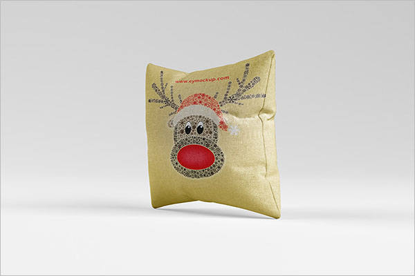 Pillow Cover Mockup Example