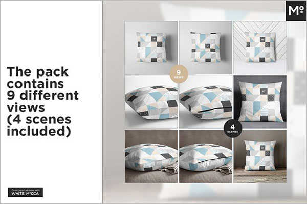 Pillow Cover Pack Template