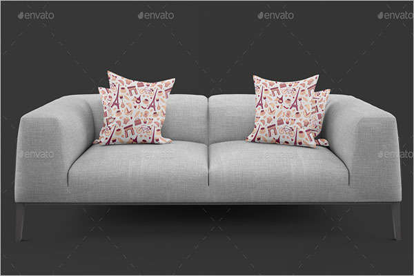 Premium Pillow Cover Mockup