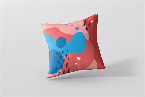 Sofa Pillow Cover Mockup Design