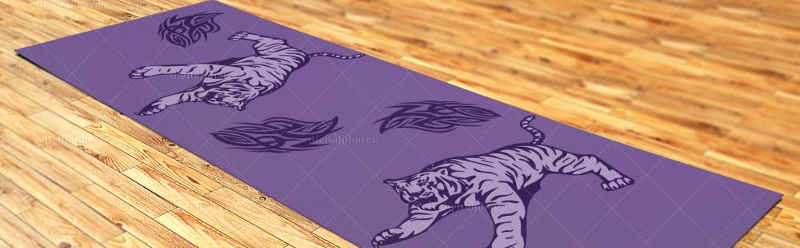 YOGA MAT TEMPLATE
