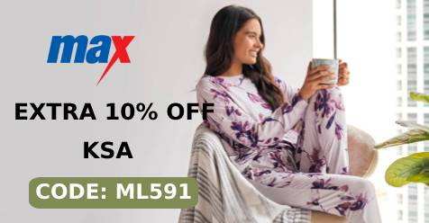 Max Fashion Saudi Arabia Coupon Code