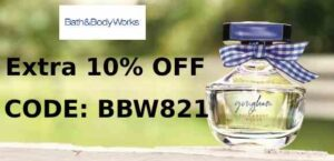 bath and body works coupn code