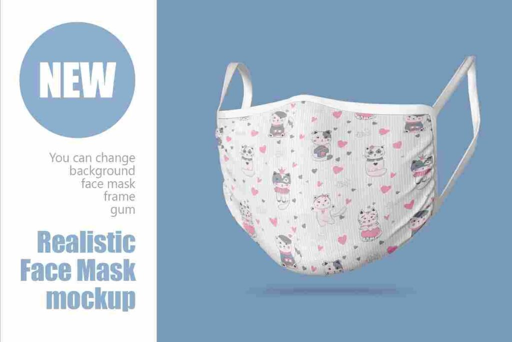 Example Face Mask New Mockup