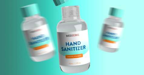 Hand Sanitizer Mockup Templates